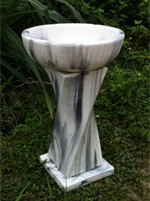 Marble and Granite Bird Baths